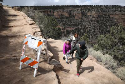 Grand Canyon Trails Closed