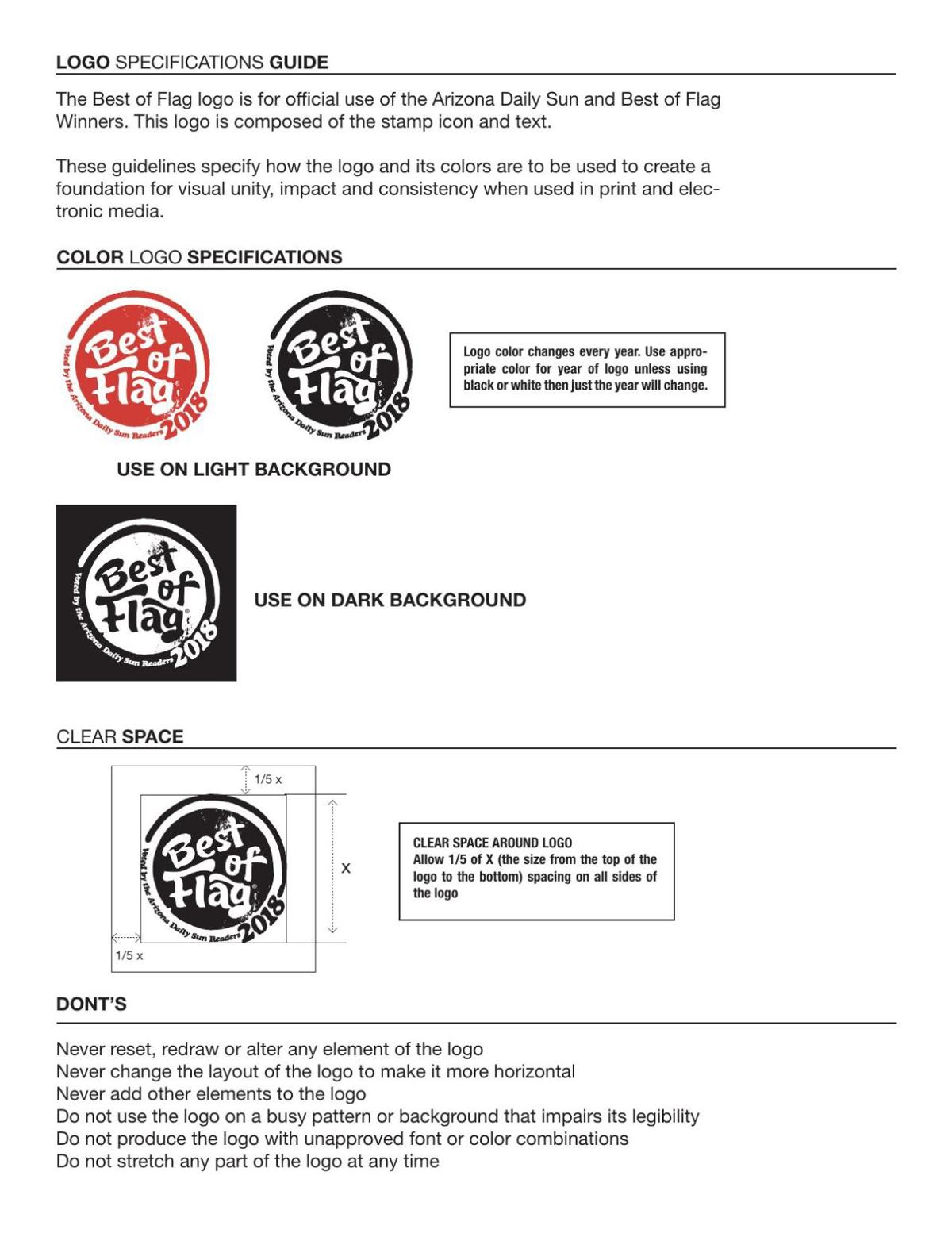 Logo Specifications Guide