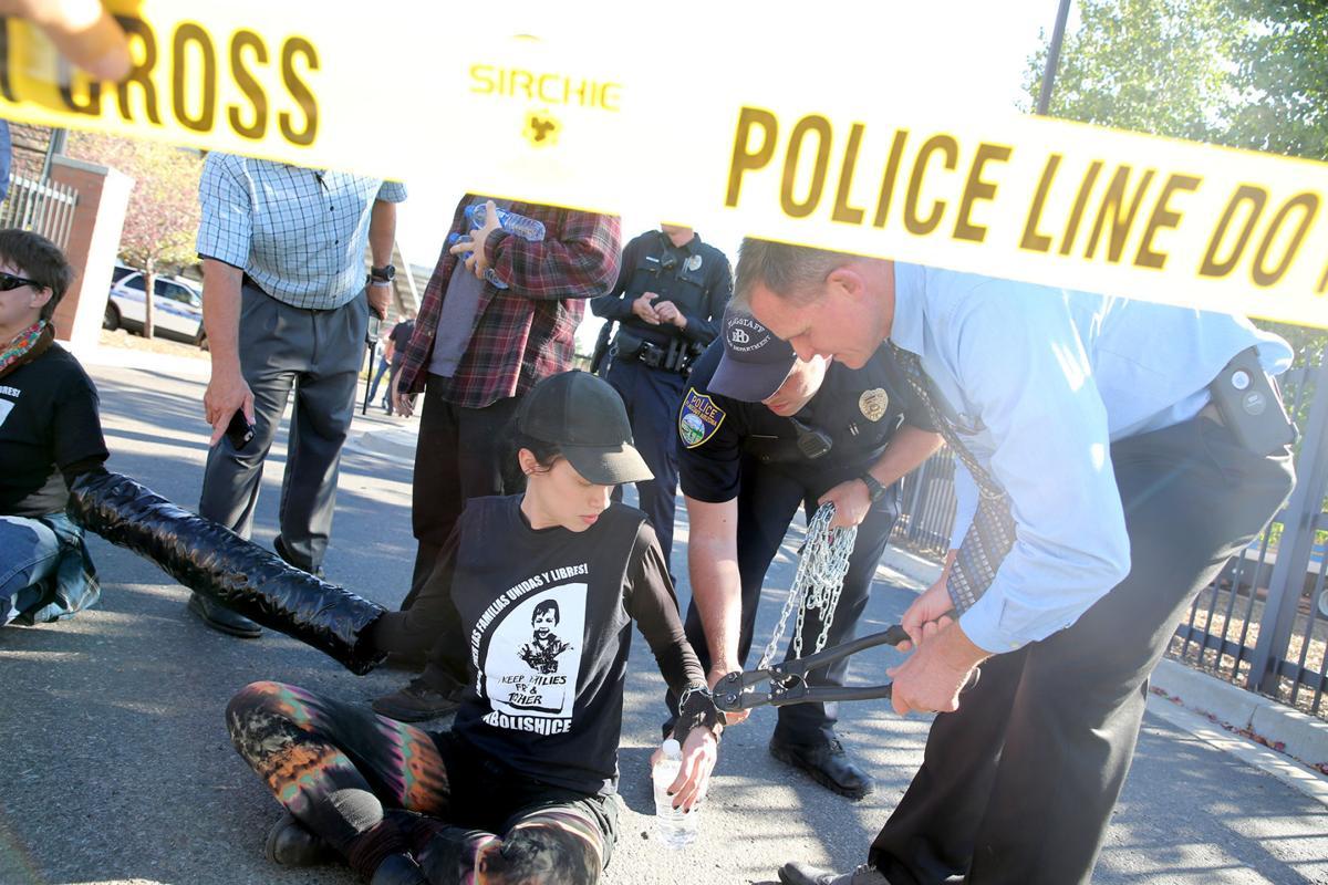 ICE Civil Disobedience