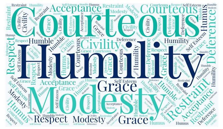 March Theme is Humility