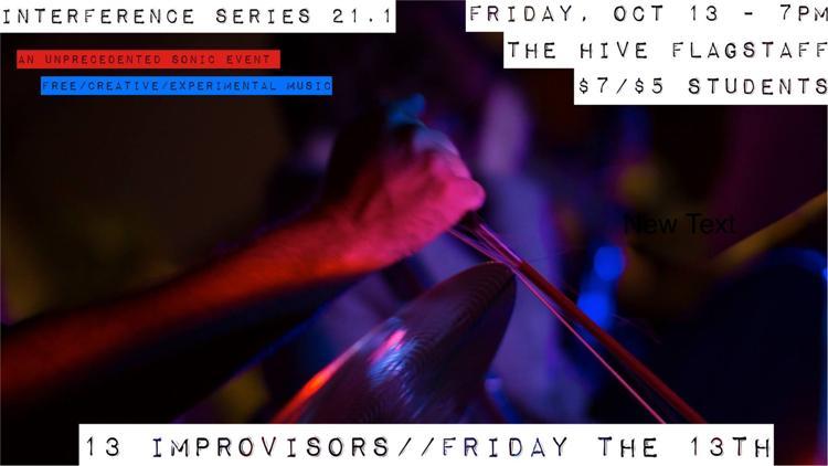 13 Improvisors on Friday the 13th