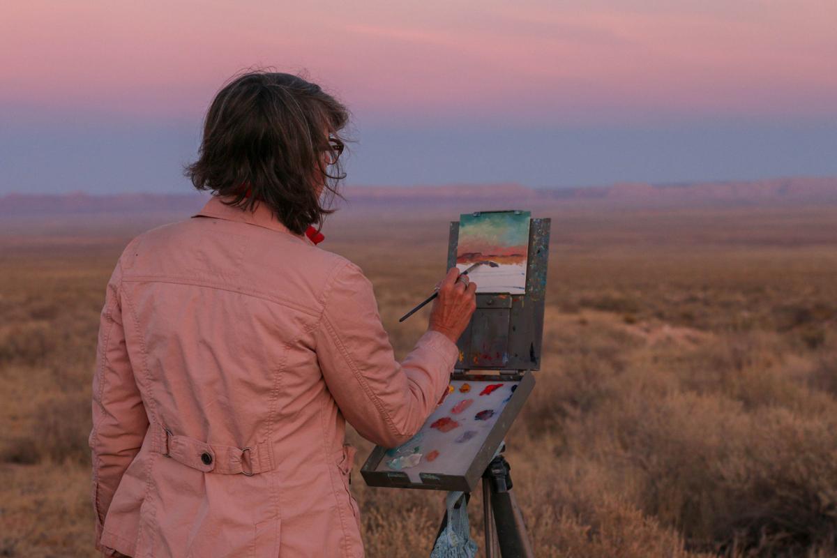 Kane Ranch - sunset, rebekah