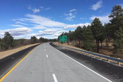 I-40 Devil Dog-New Pavement With Striping