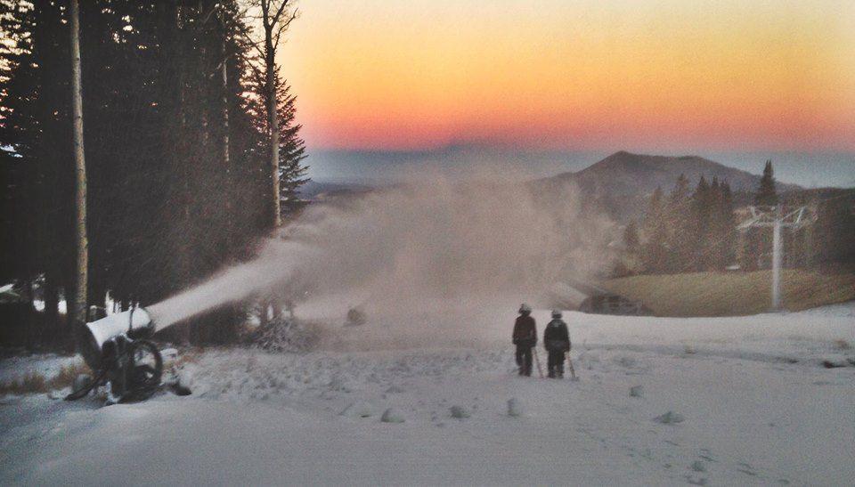 Snowbowl snowmaking
