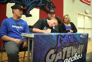 Tyler Walters signs his LOI to play baseball at next level
