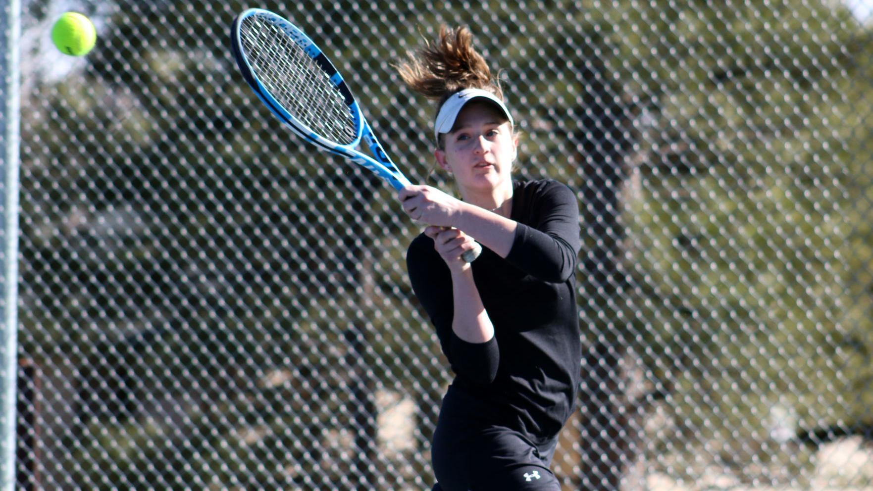 CHS girls tennis suffers first defeat of the season