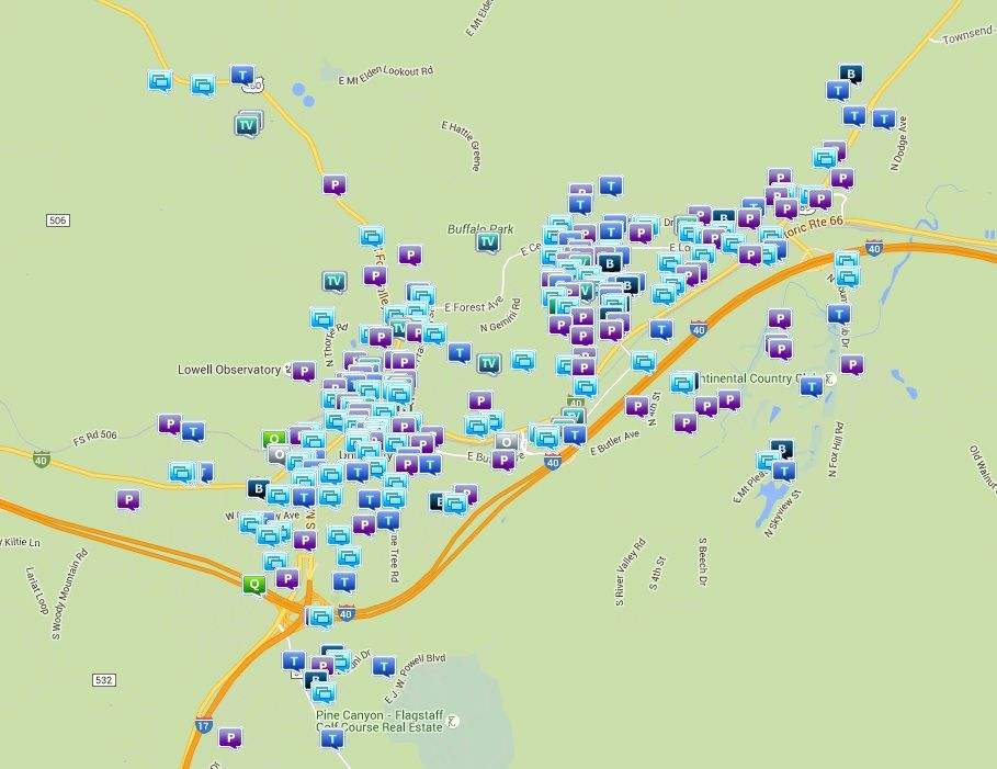 Crime maps track Flagstaffs hot spots Crime and Courts