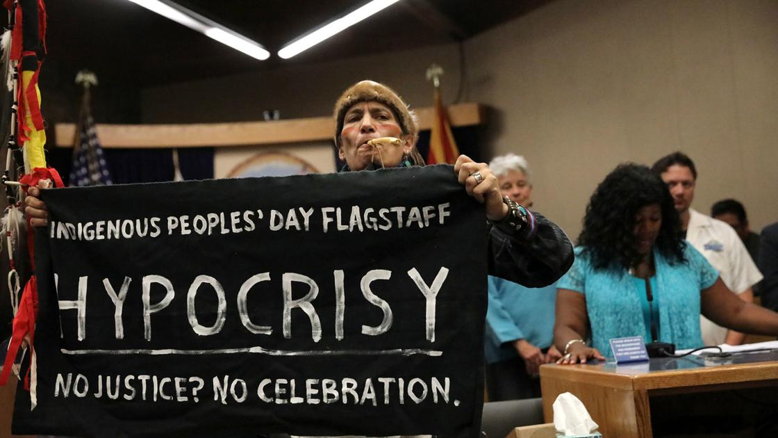 Flagstaff's first Indigenous Peoples' Day shows progress still needed
