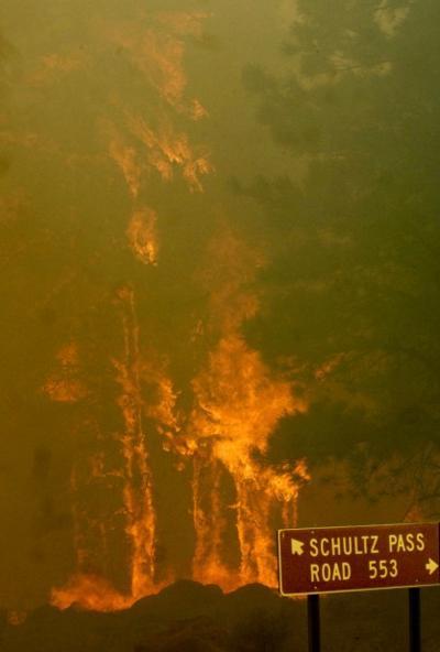 89 Mesa Fire
