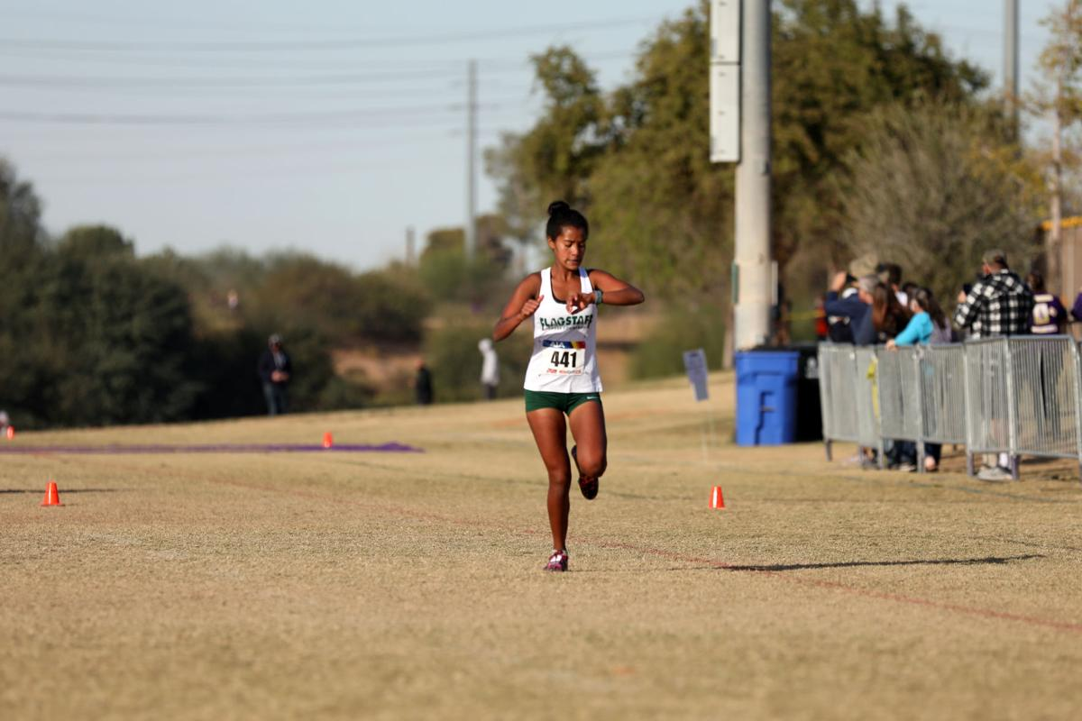 Division II cross country state championship race