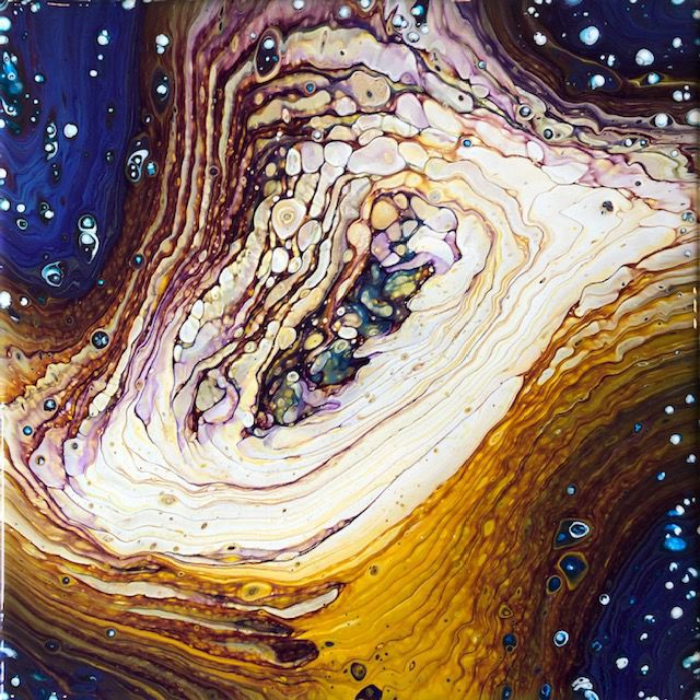 Chelain Stocker-paint pour