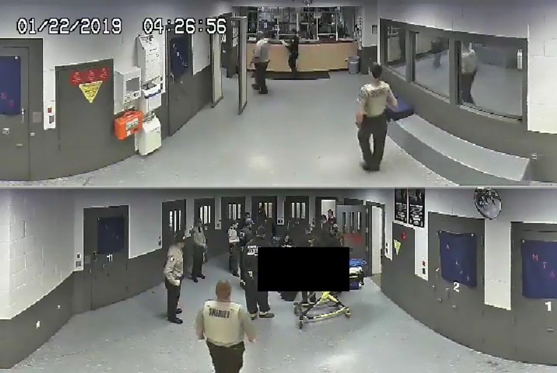 Coconino County Detention Facility footage