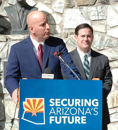 Brandon Judd and Doug Ducey