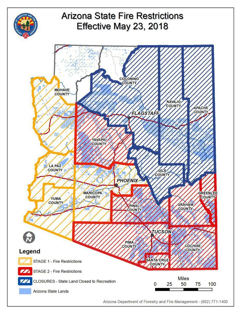 State lands closures