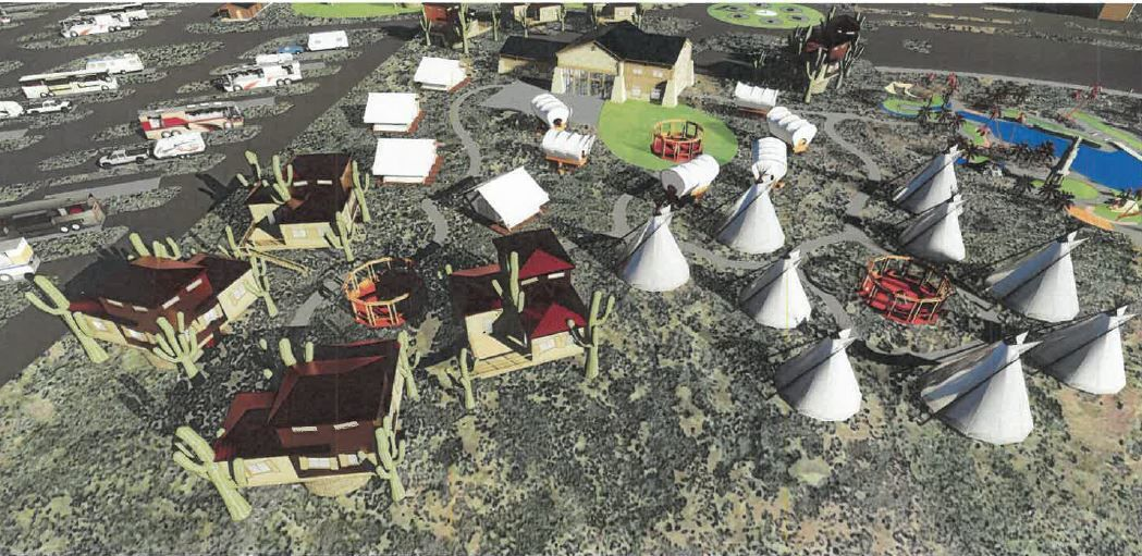 Two Guns Tipis and Cabins