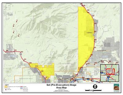 2:39 p.m.: Museum Fire pre-evacuation map