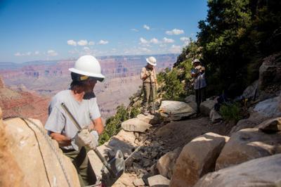 Hermit trail restoration