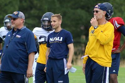 NAU offensive coaches