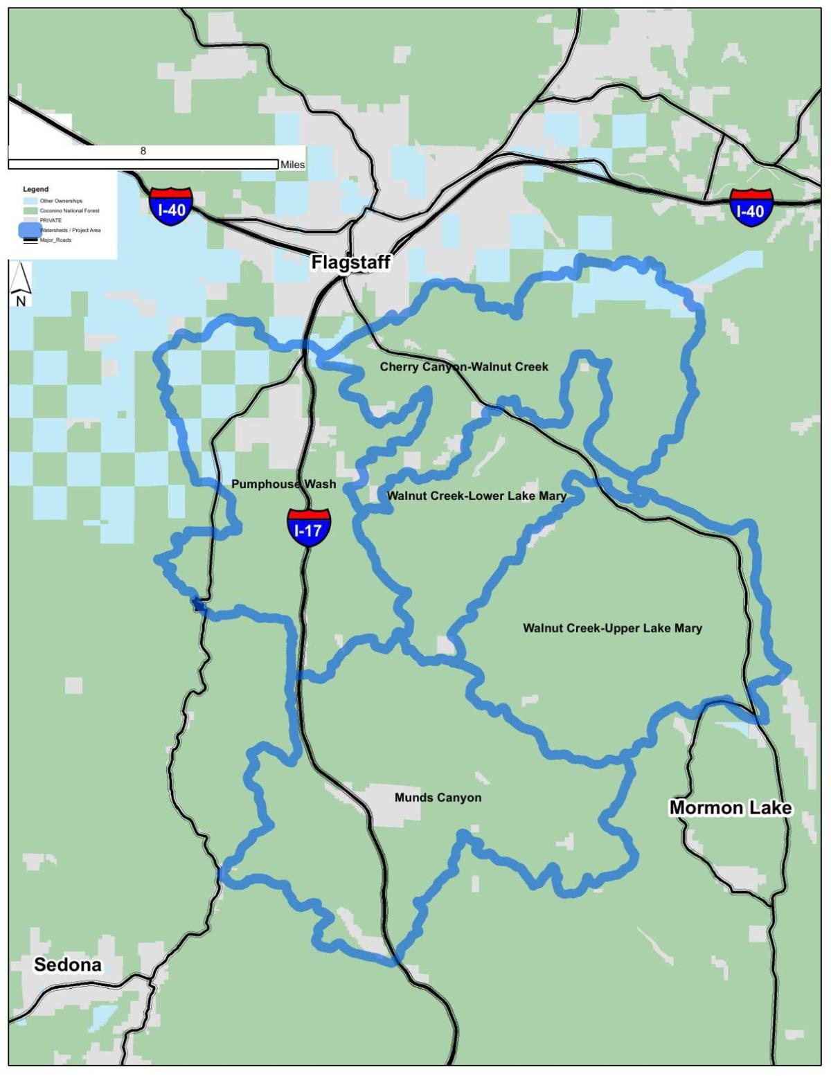Flagstaff Five Watershed Improvement Project