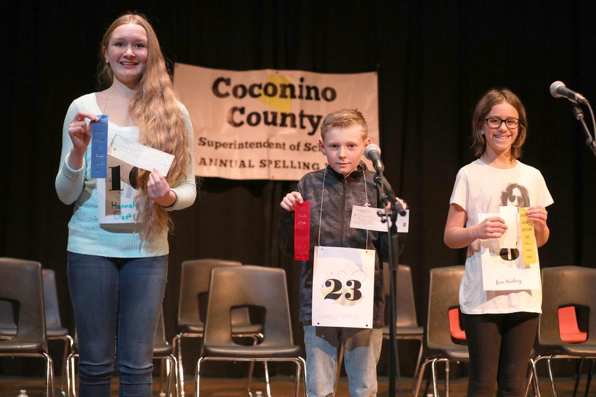 Coconino county Spelling Bee Winners