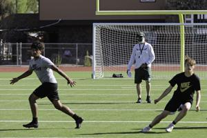 New Flagstaff Eagles football head coach takes first steps in spring practice