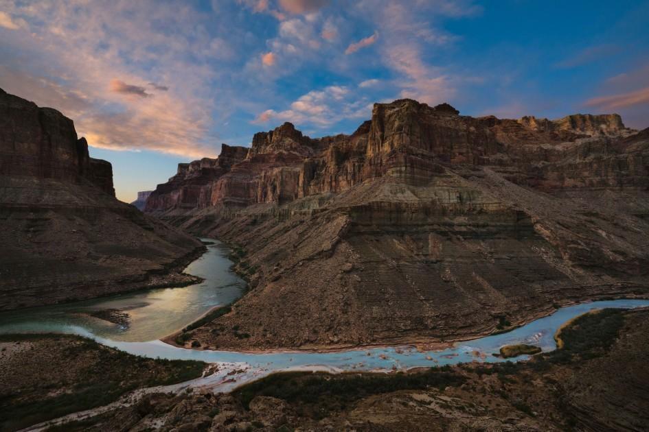 Pete McBride canyon image