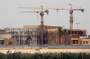 New U S  Embassy in Iraq is world's biggest | National