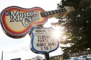 Photo Gallery: Sun sets on Flagstaff's Museum Club