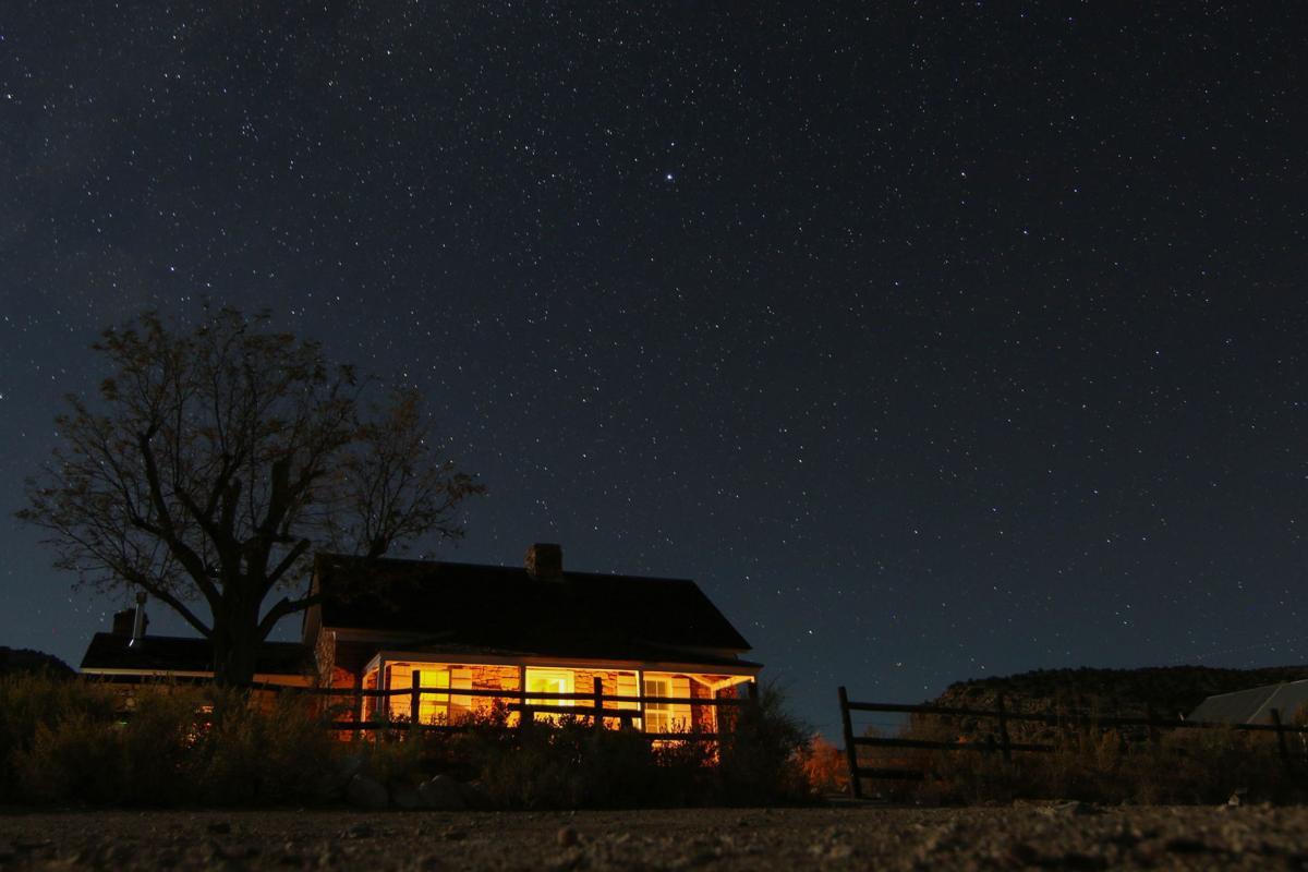 Kane Ranch - exterior night