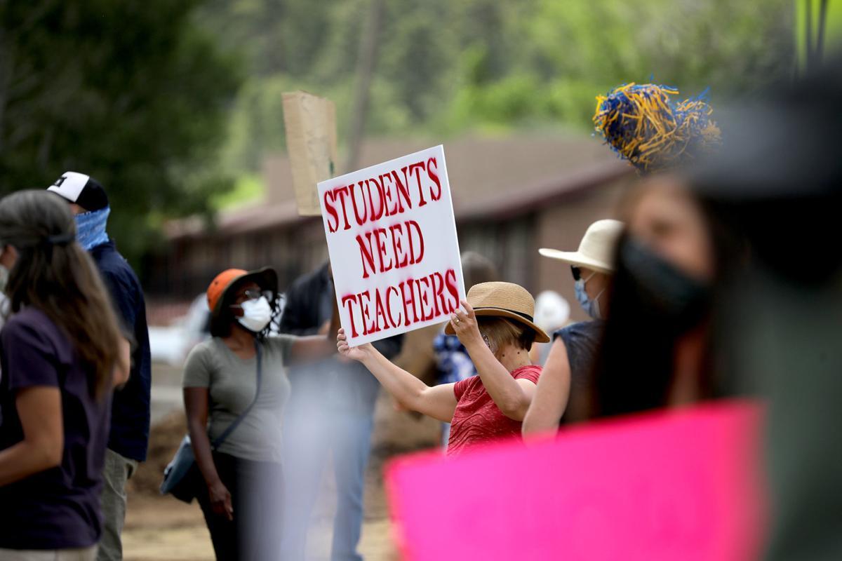Protesting Cuts at NAU