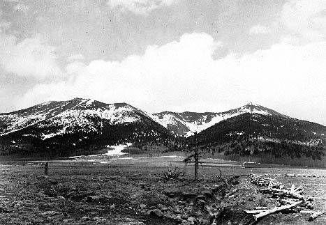 Snow on the San Francisco Peaks 1920