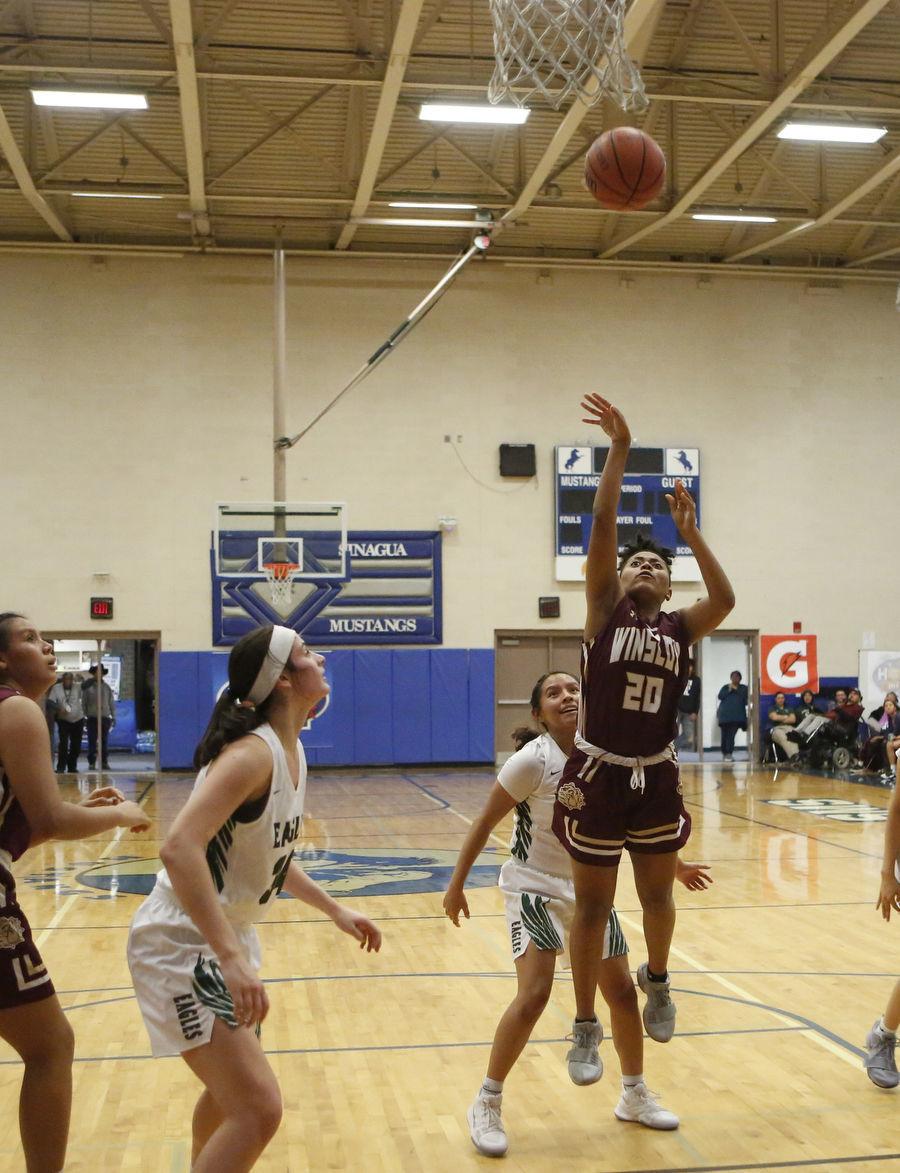 Flagstaff High Winslow High Basketball