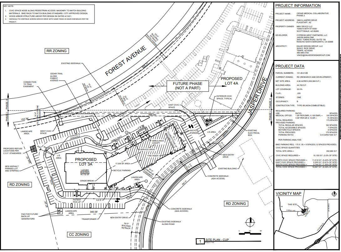 Apricus micro hospital site plans