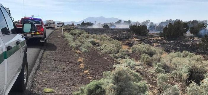 Wildfire chars 30 acres near Twin Arrows Casino; smoke from Prescott-area fire moves into Parks, Bellemont