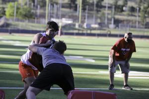 Coconino football looking ahead to 2021 season in spring practice