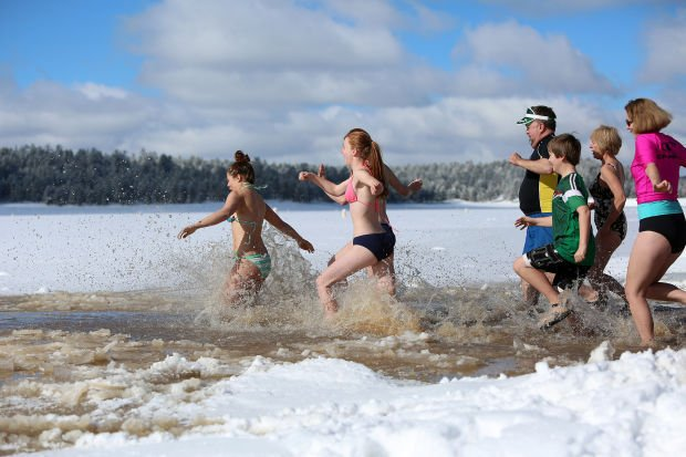 Online exclusive: Lake Mary Polar Plunge