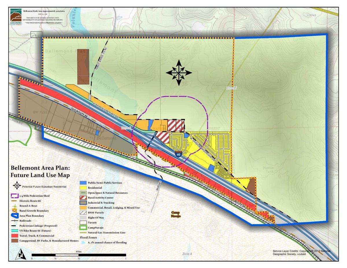Bellemont Area Plan Land Use Map