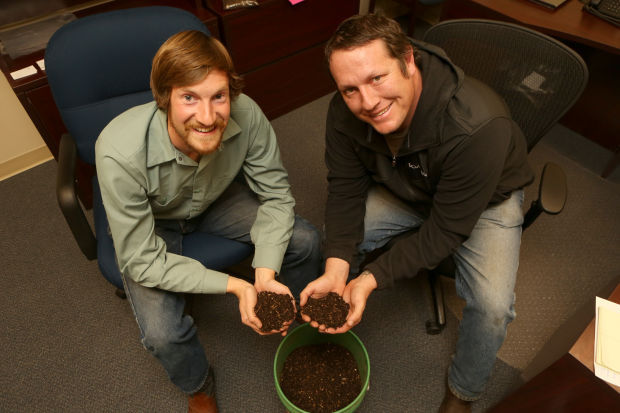 Roots composting