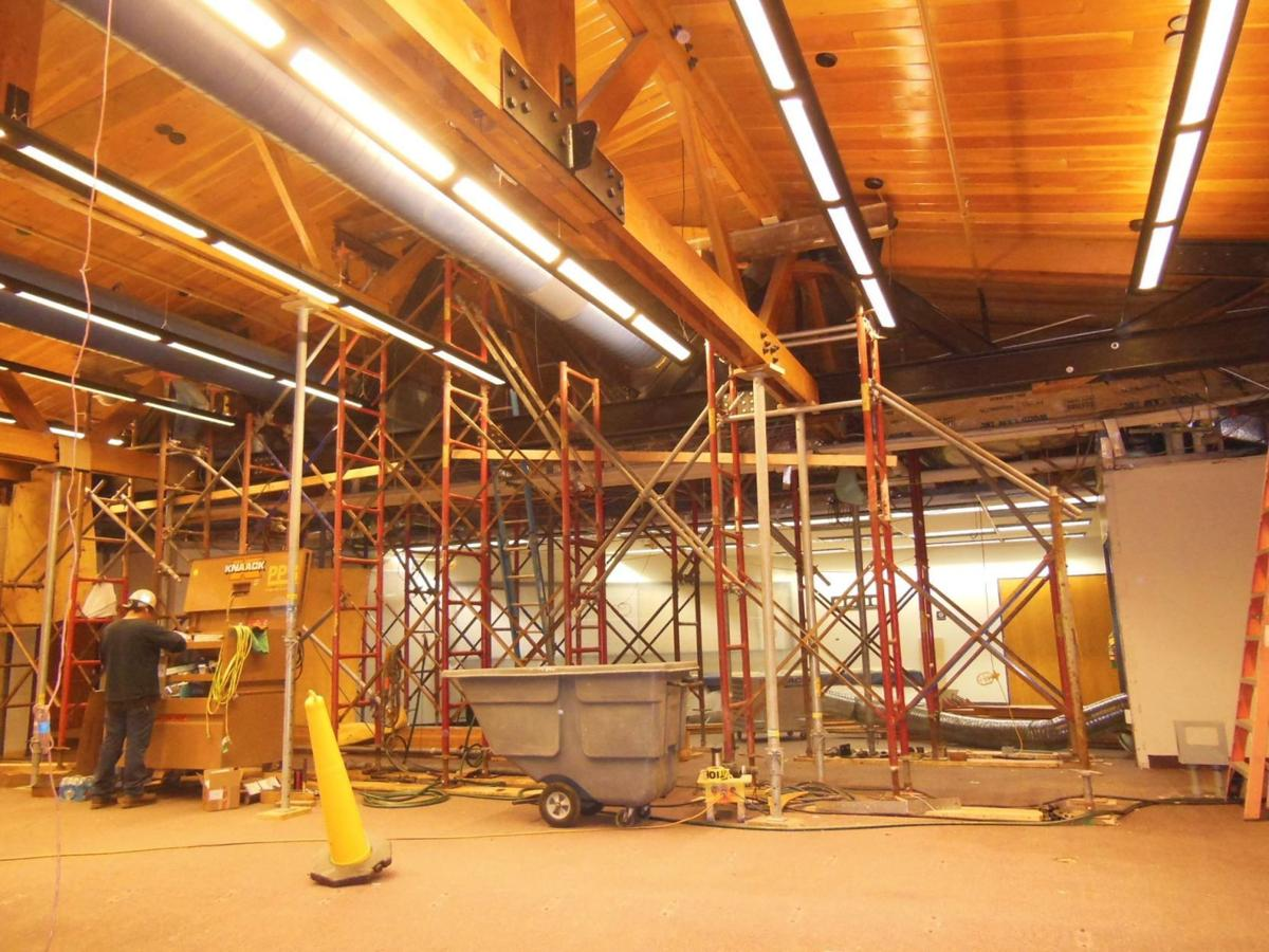 Council chambers construction