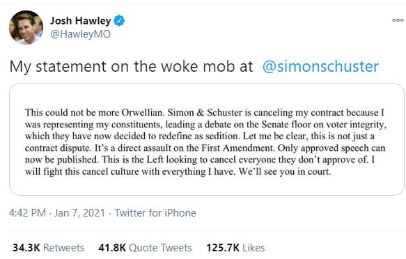 2. Hawley Tweet Orwellian, author screen capture.png