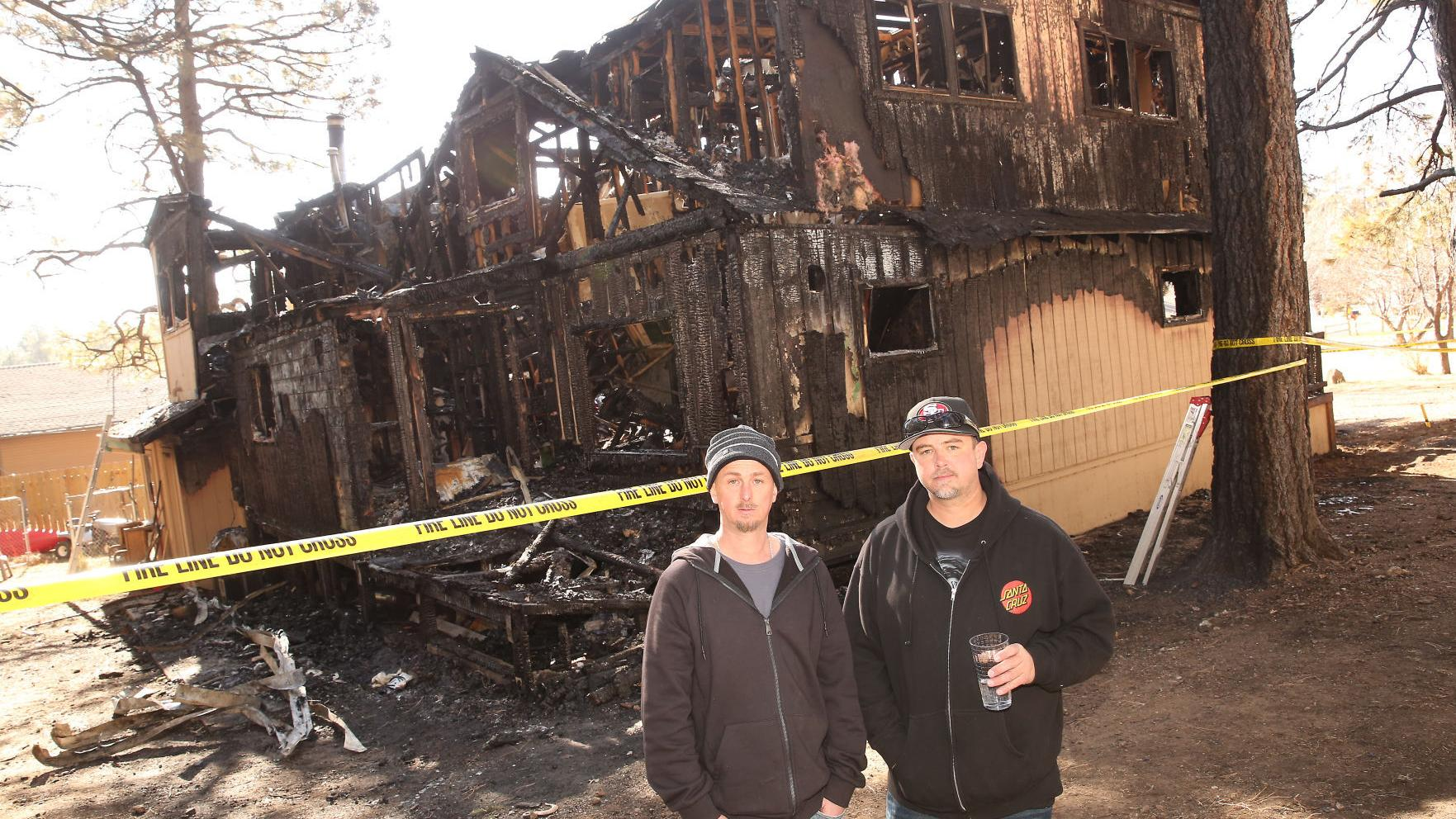 Pine Dell house fire burns a lifetime of memories