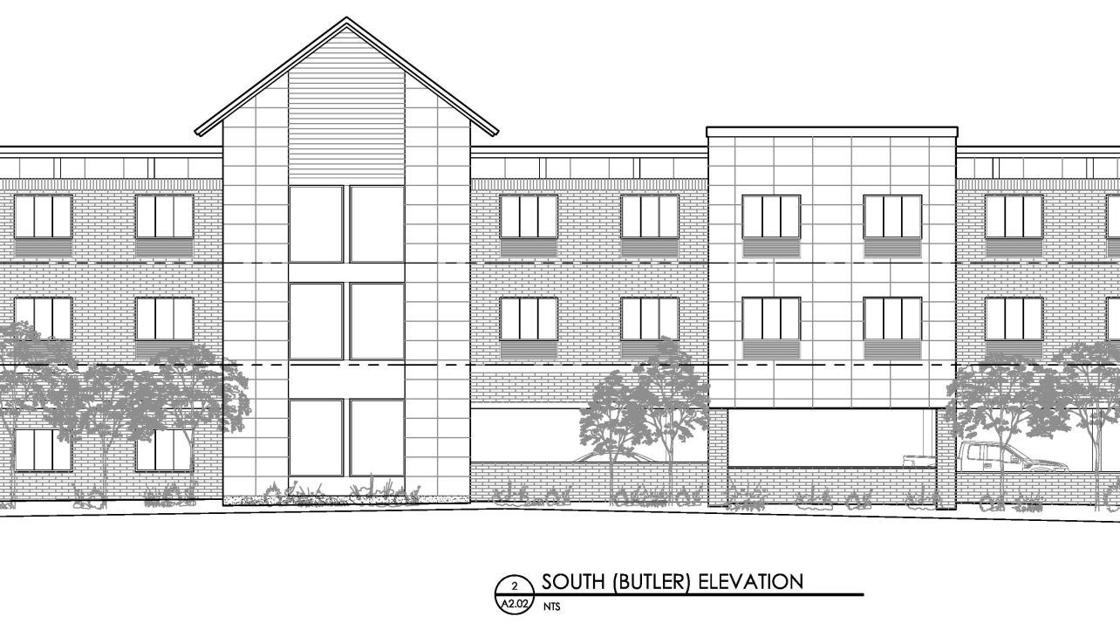 New three story hotel to be built on Milton and Butler
