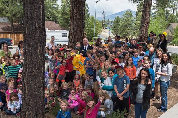 Flagstaff schools get new bike racks thanks to donations
