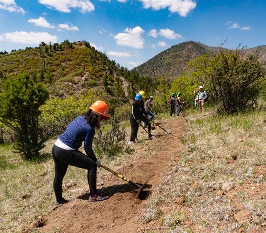 Little Elden Trail workers