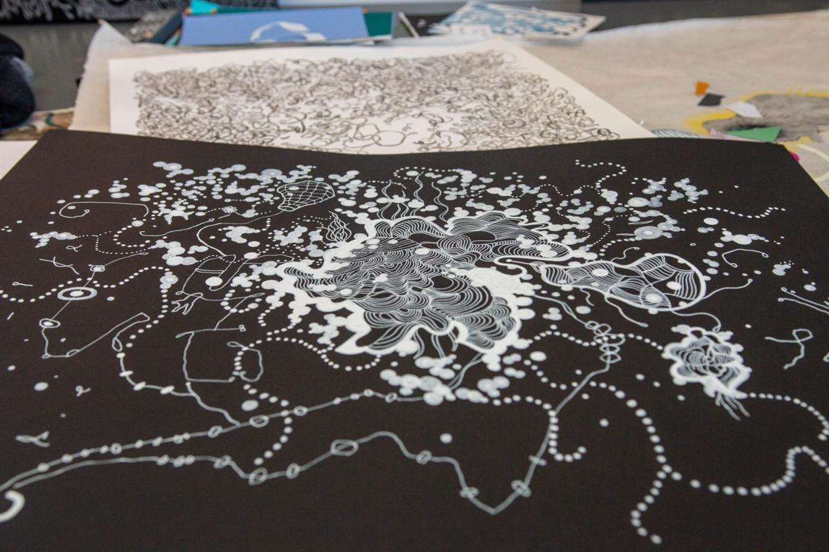 Helen Padilla art abstractions