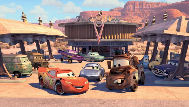 56. Seligman and the film 'Cars.'