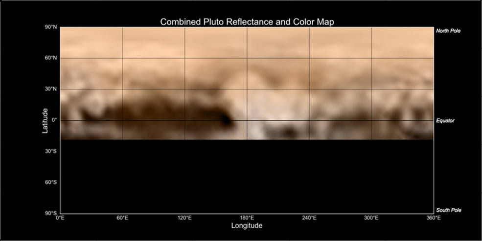 Mapping the surface of Pluto