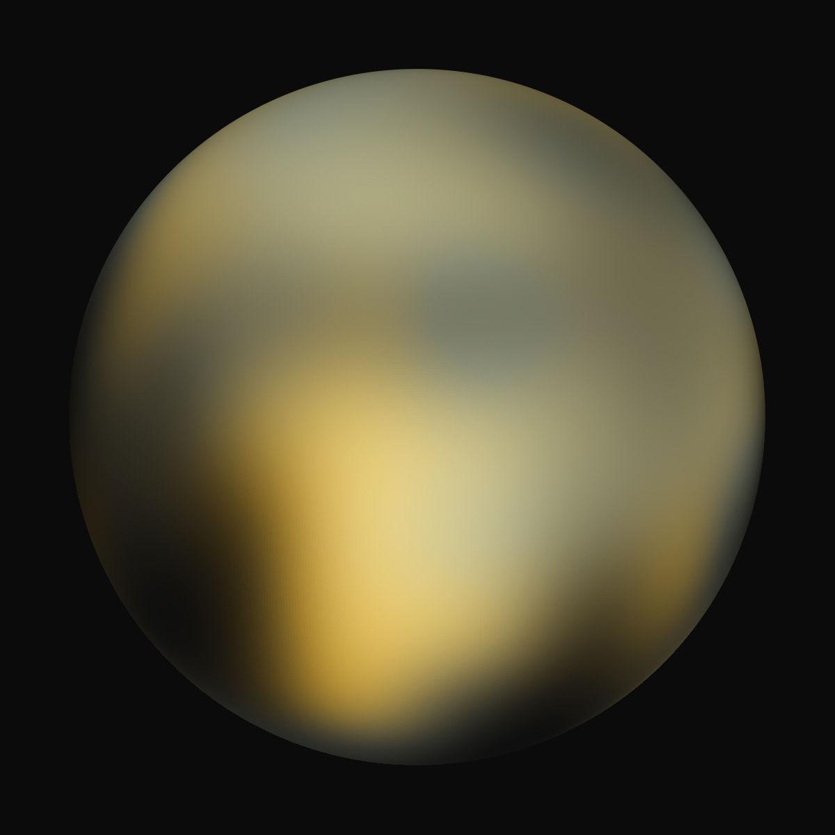 Pluto Hubble Telescope