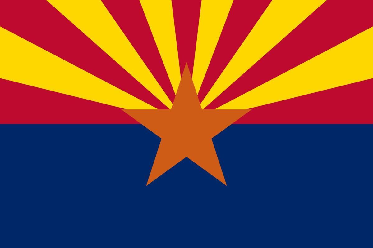 Arizona flag (print)