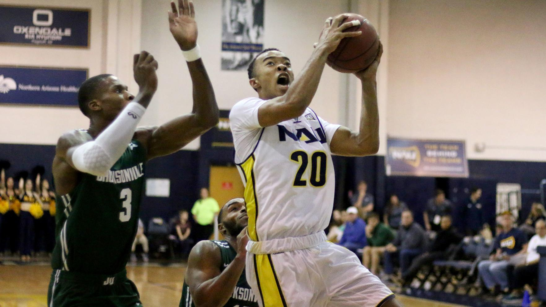NAU men's basketball set to close out long week against Hawaii